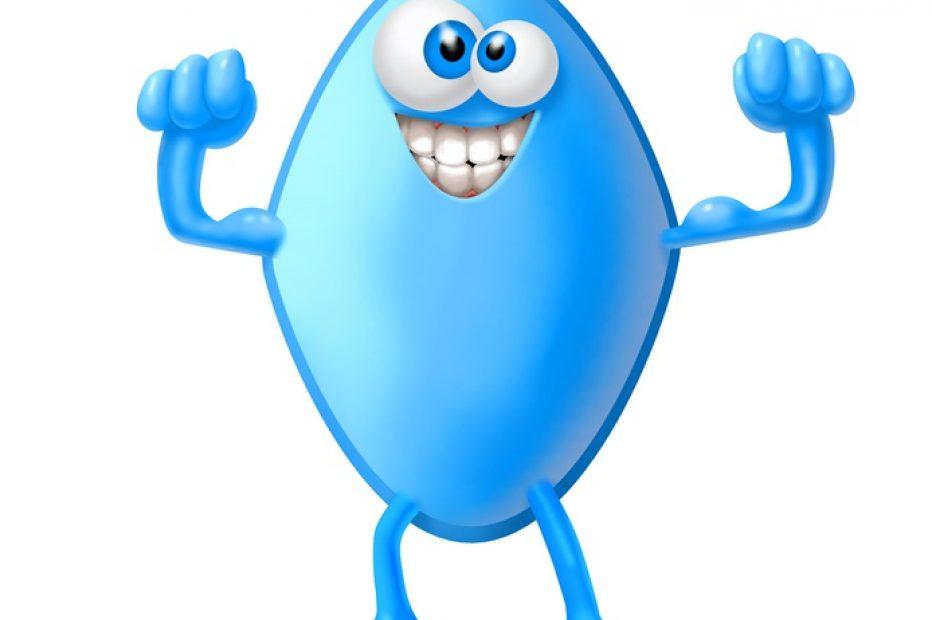 Niebieska tabletka na stawy